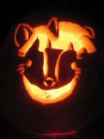 Crazy Twilight Pumpkin by katiewhy