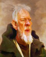 Alec Guinness by wooden-horse
