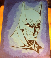 Batman Painting by gokujr96
