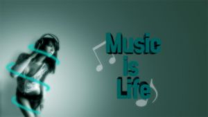 Music is Life by AlexAKADucky