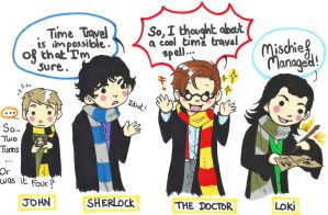 PotterWhoLockVengers by WhatItMeansToBeHuman