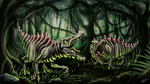 COW#335 Radioactive Dinosaur Final by Kritzlof