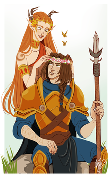 Flower Crowns by naomi-makes-art73
