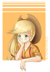 MLP: Applejack Why You So Serious? by hahalyssa