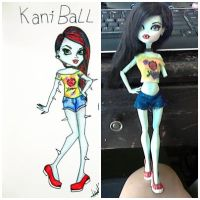 Kani Ball Monster High Doll OC by MarySixx