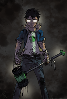 Tar Kid by Brakkenimation