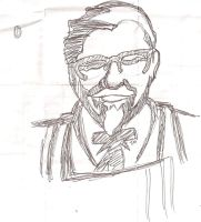 It's the Colonel from KFC by Syncratio400