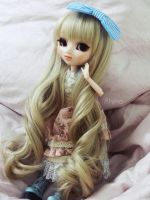 New wig for Akiko! ^w^ by Mikhairu20