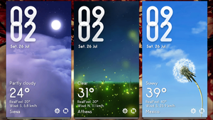 MIUI Weather v2 for xwidget by jimking