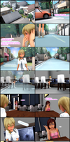Soaped Hearts 1 (A Kingdom Hearts Soap Opera) by Lexalice