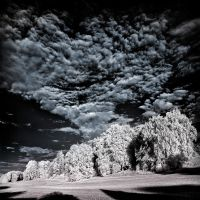 Clouds - infrared by MichiLauke