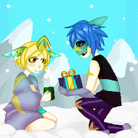 Walking in a Winter Punderland(Gif) by rayne-storme