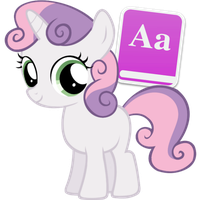 Sweetie Belle Filly by Nerve-Gas