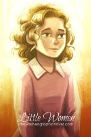 Little Women poster - Amy by danidraws