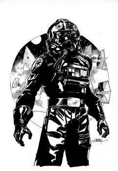 Star Wars #21 Cover Lineart by TerryDodson