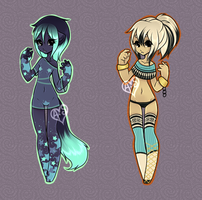 Almond randopts collab [Adoptables] CLOSED by Siraviena