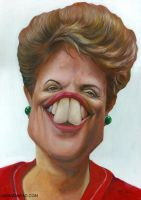 Dilma Rousseff by manohead