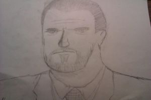 Arnold Schwarznegger looking person by CrimeBaby