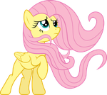 Windswept Fluttershy by uxyd