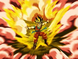 The Transformation Of Goku by Sersiso