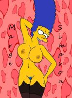 Marge In Black totally hot by Comon99