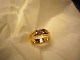 Solitaire Diamond ring 2 by Debals