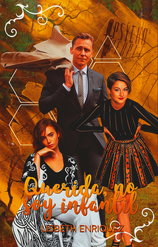 Querida, no soy infantil [wattpad cover] by TheMaleviQueen