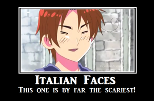 APH Motivational: Italian Face by kuteglacion009