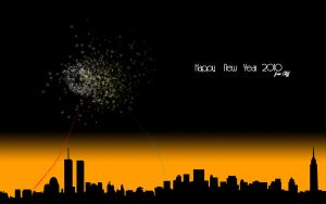 Happy New Year 2010 by CleveWalker