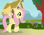 Fluttershy's Adventure by Noah-x3