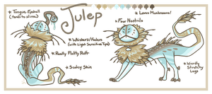 Julep Reference Sheet by Galadnilien