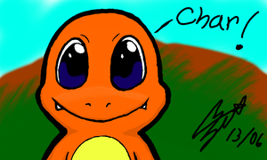 Colors 3D Charmander by CharmanDrigo