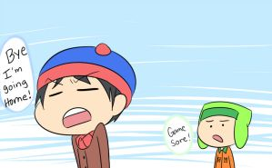 stan's a game sore o.O by SouthParkFantasy