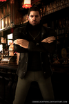 Chris Redfield Bar by ceriselightning