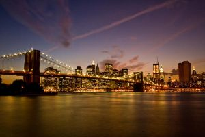 Brooklyn Bridge by Cicerl