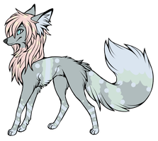 [CLOSED] DOG ADOPTABLE ~ 3 POINTS by TheKarkkinami