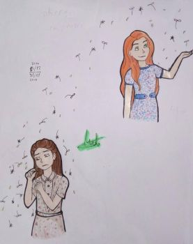 LilyPetuniaEvans_HarryPotter by LizzelBlue