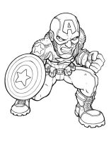 ultimate captain america ink by LOLONGX