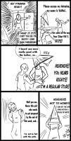 SILENT HILL COMIC 3 by macawnivore