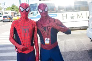New York Comic Con 2015 - Spiderman, Spiderman.. by VideoGameStupid