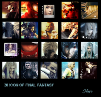 20 Icon of Final Fantasy by blackdx
