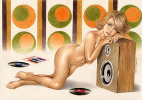 Pin Up Series 2 - I Love 60s by Somalo1