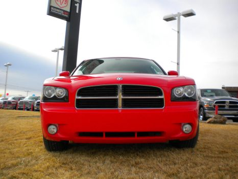 Dodge Charger RT Front by wastemanagementdude