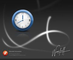 Clock Icon by dellustrations
