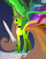 Make New Oc Ider new wings and new sword work 4 by daylover1313