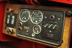 1940s Fire Engine Controls by Taking-St0ck
