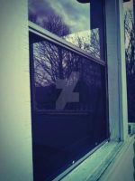 Window with the sky. by CindyLouWhoXox