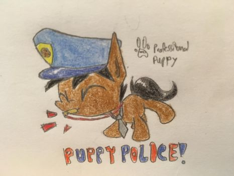 Puppy Police by ProfessionalPuppy