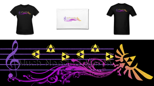 LOZ Zeldas Lullaby Merch by Enlightenup23