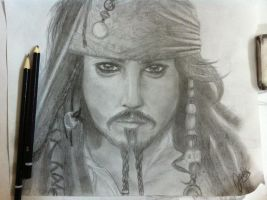 Captain Jack Sparrow by wolfgirl117